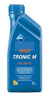 Синтетическое моторное масло Синтетика ARAL High Tronic 5w-40 1л