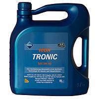 Синтетическое моторное масло Синтетика ARAL High Tronic 5w-40 4л