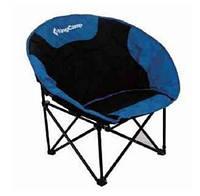 Раскладное кресло Kingcamp из полиэстера, черно-синее, до 120 кг. Moon Leisure Chair(KC3816) Black/Blue