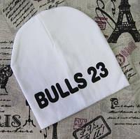Детская трикотажная шапка BULLS 23 Оптом