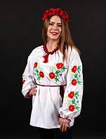 Женская сорочка вышиванка Колосок