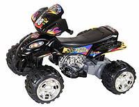 Детский квадроцикл QUATRO RD 203 черный