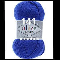 Пряжа для ручного и машинного  вязания Alize EXTRA (Экстра) акрил 141 василек