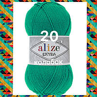 Пряжа для ручного и машинного  вязания Alize EXTRA (Экстра) акрил 20 изумруд