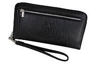 Клатч мужской кожаный Karya 0704-076 черный, фото 1