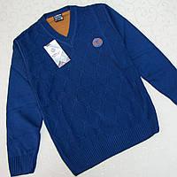 Джемпер для мальчика -ПОДРОСТКА. Турция.  Школьные свитера, кардиганы, кофты. Вязка для детей.