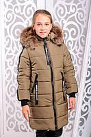 Зимняя куртка для девочек и подростков