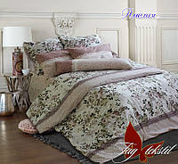 Двуспальный комплект постельного белья ранфорс Амелия ТM TAG