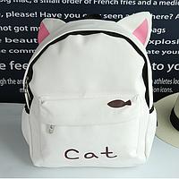 Молодежный рюкзак с любимым зверем cat