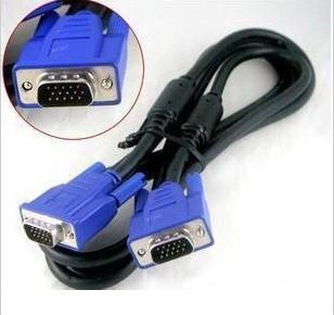 Кабель к монитору VGA 1,8м (феррит, фирменные качественные кабеля)