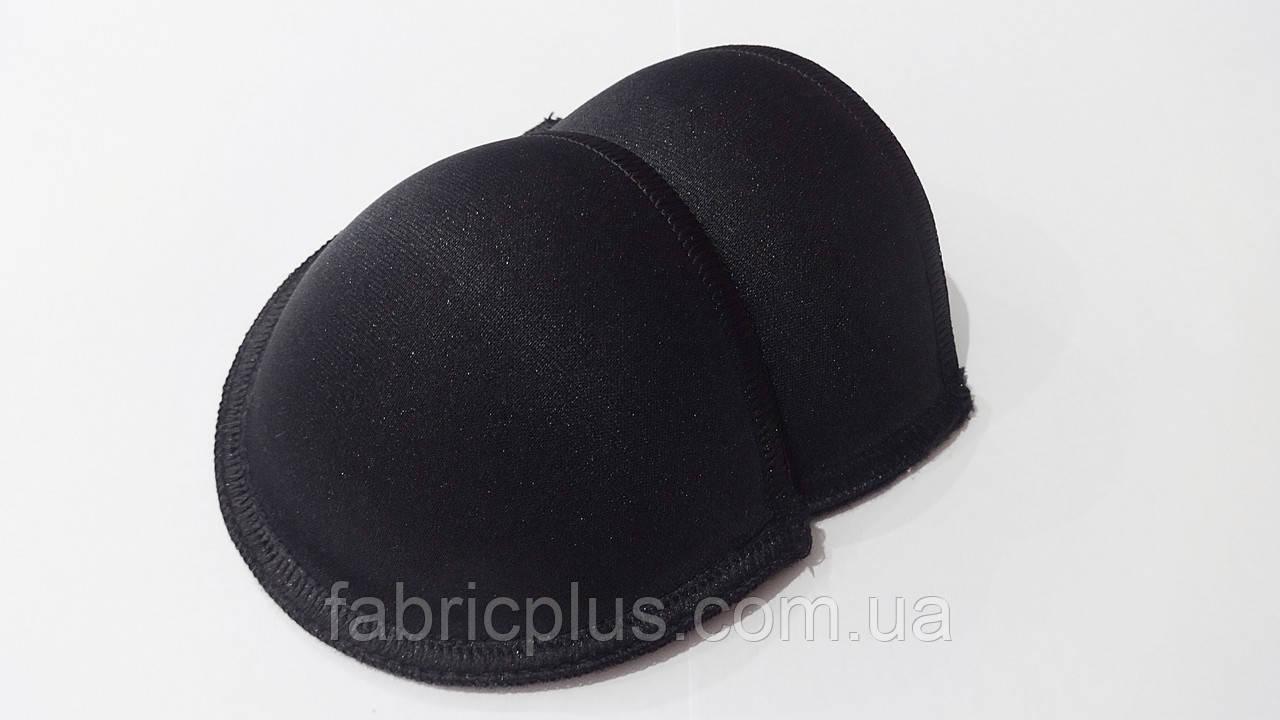Чашка для белья №70 формованная с каркасом черная