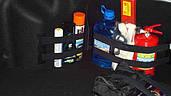 Сетка и карманы в багажник