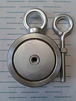 Поисковый двусторонний неодимовый магнит на 400 кг Тритон