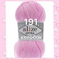 Пряжа для ручного и машинного  вязания Alize EXTRA (Экстра) акрил 191 розовый леденец
