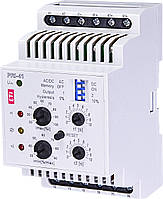 Двухуровневое реле контроля тока PRI-41 230V (3 диапазона) (2x16A_AC1)