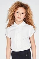 Рубашка с короткими рукавами и кружевом на 7 лет (ТМ Next), фото 1