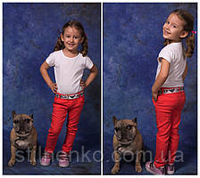 Весенние цветные джинсы для мальчика и девочки,пояс в комплекте