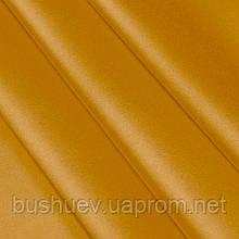 Ткань атлас Золотистый