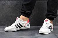 """Белые кеды Адидас мужские, """"Adidas Turf Royal"""""""