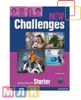 New Challenges Starter  Active Teach, диск 8523493900