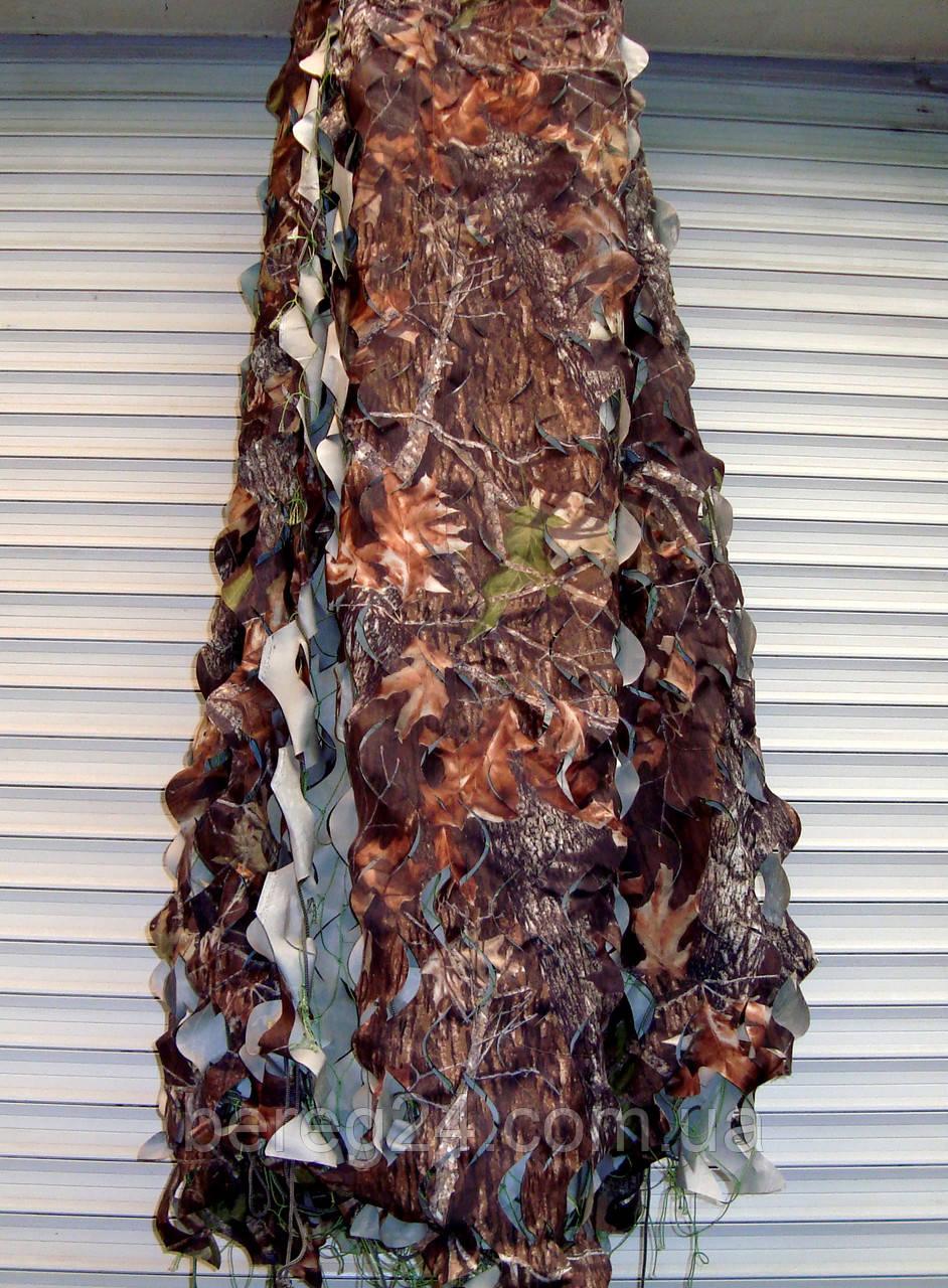 Маскировочная сетка, защитная, затеняющая 3х3 м Picnic лес