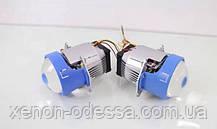Светодиодные линзы Projector Lens Bi-LED 3.0'' POD (рамка Hella), фото 2