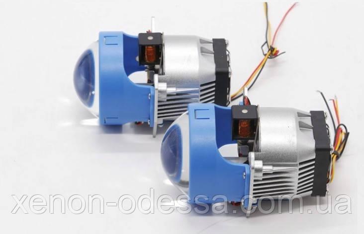 Светодиодные линзы Projector Lens Bi-LED 3.0'' POD (рамка Hella)