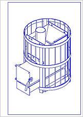 Піч-кам'янка для сауни RS-15, фото 3