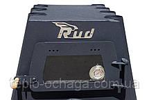 Отопительная конвекционная печь Rud Pyrotron Кантри 01 с духовкой и варочной поверхностью, фото 3