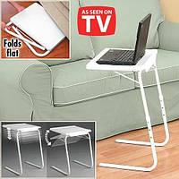 Столик универсальный складной Table Mate 2 Тейбл Мейт 2, функциональный столик подставка