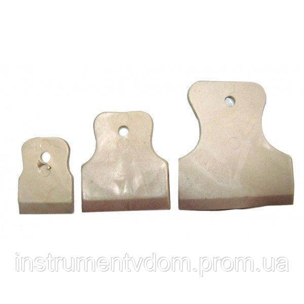 Набор резиновых шпателей (3 шт)