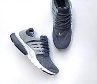 "Кроссовки Nike Air Presto Ultra Flyknit ""Grey/White"""