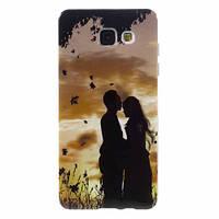 "Чехол Накладка Для Samsung Galaxy А5 А510 ""Love"""