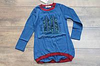 Вязаная кофта для девочек 6- 12 лет