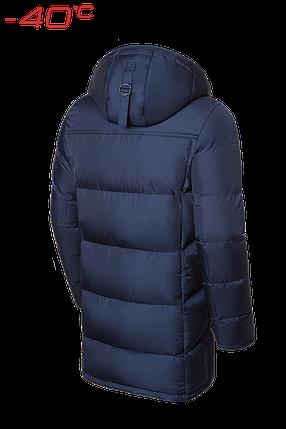 Мужская удлиненная темно-синяя зимняя куртка Braggart Dress Code (р. 46-56) арт. 1826, фото 2