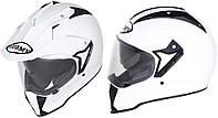 Универсальный шлем SUOMY CASCO MX TOURER PLAIN WHITE размер  XS, фото 1