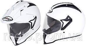 Универсальный шлем SUOMY CASCO MX TOURER PLAIN WHITE размер  XS