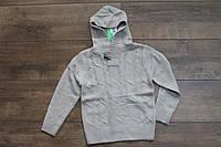 Вязаный свитер для мальчиков 4- 8 лет
