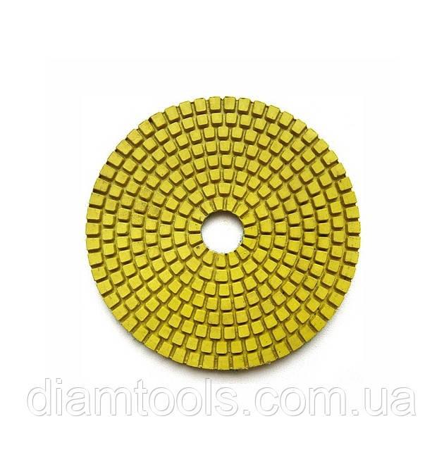 Гибкий полировальный круг (черепашка) Baumesser 100x3x15 №120 Standard