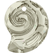 6731 Sea Snail Pendant partly frosted