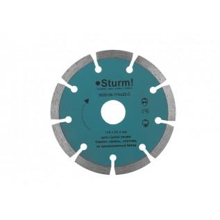 Алмазный диск сегментный Sturm d115 мм 9020-04-115x22-C