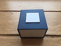 Подарочная коробка для часов синяя