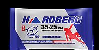 Влажная салфетка -полотенце  с экстрактом алоэ HARDBERG 8ШТ 35Х25СМ