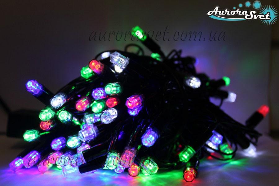 LED гирлянда от AuroraSvet blue/mix color/warm white 3м. Светодиодная гирлянда. Гирлянда LED.