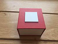Коробка подарочная для часов красная