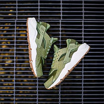 "Кроссовки Nike WMNS Air Huarache Run Premium ""Palm Green"", фото 2"