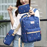 Модный школьный рюкзак с набором аксессуаров