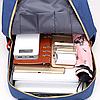 Модный школьный рюкзак с набором аксессуаров, фото 8