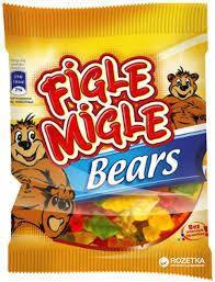 "Желейные конфеты  ""FIGLE MIGLE"" Мишки (Bears) 80г, фото 2"