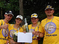 """Команда """"Судачок"""" стала чемпионом по фидерной ловле!"""